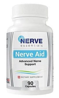 Nerve aid Advanced Nerve Support bottle
