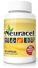 One bottle of Neuracel neuropathy supplement