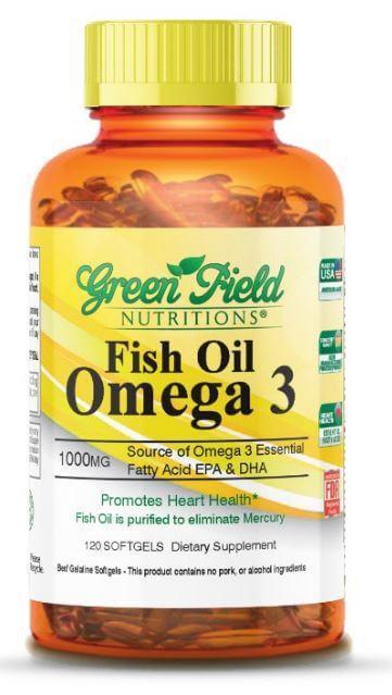 Omega 3 fish oil capsules 100mg 120 softgels