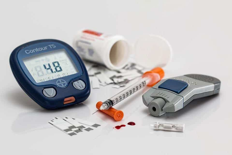 Diabetic blood sugar monitor
