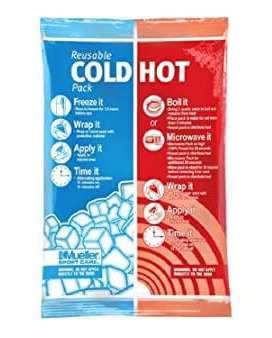 Reusable hot and cold pack for neuropathy