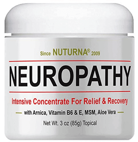 Nuturna neuropathy pain relief cream