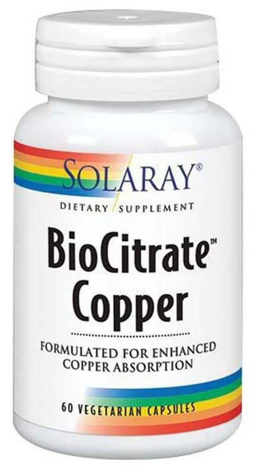 Copper supplement