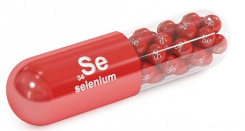 Selenium capsule illustration